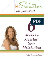 6 Weeks to Kick Start Your Metabolism - Isabel de Los Rios