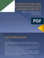Analisis Faktor-faktor Yang Mempengaruhi Inflasi Di Indonesia (