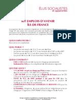 KIT Emplois Davenir Ile de France