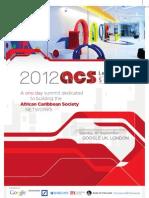 2012 ACS Leadership Summit - Brochure
