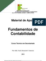 Fundamentos Contabilidade Tecnico Adm