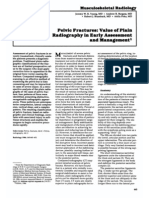 Pelvic Fractures Value of Plain Radiography