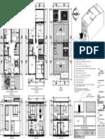 Casa Alamos Plano 1 de Medio Pliego 72cm x 50cm 2 Pisos 5.00m x 11.00m (1)