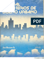 Manual de criterios de diseño urbano [Jan Bazant S.]