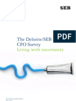 Deloitte/SEB CFO Survey in Finland