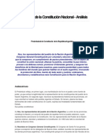 Analisis Del Preambulo