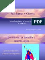 Paradigmas y Ciencia de La Investigacion
