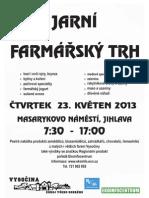 Farmářské trhy v Jihlavě