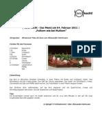 04.02.2011 - Rezepte Zum Futtern Wie Bei Muttern