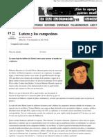Lutero y Los Campesinos