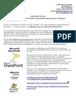 Effektiveres Loadbalancing von Microsoft SharePoint 2013 - Load Balancer Lösungen von Loadbalancer.org_