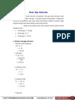 Perhitungan Poros