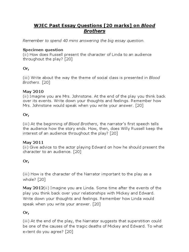 Essay Topic 2