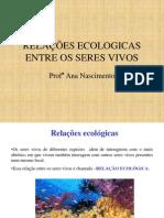 Aula de Ciências_Relaçoes Ecológicas_Professora Ana Carla