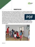 GVI Mexico Monthly Achievement Report Playa Del Carmen April 2013