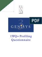 15FQPlus Ideal Profile Questionnaire