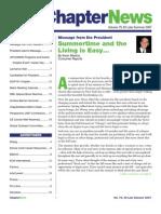 SLANY ChapterNews Newsletter Summer 2007