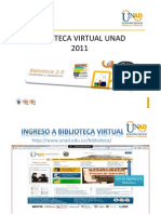 Presentacion Biblioteca Virtual UNAD