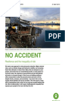 No Accident: Resilience and the inequality of risk