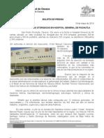 19-05-13 Germán Tenorio Vasconcelos casi 40 Mil Atenciones Otorgadas Por Hospital de Pochutla