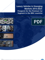 Luxury Vehicles in Emerging Markets 2013-2023