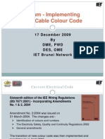 Forum on New Colour Code-17 Dec 2009