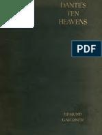 Dante's Ten Heavens, Study of Paradiso - Edmund G. Gardner