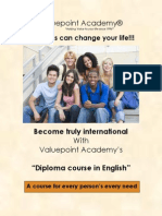 Diploma Course in English