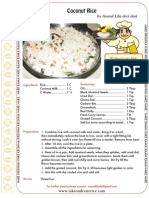 ISKCON desire tree - Coconut Rice