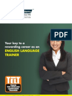 Train the English Language Trainer