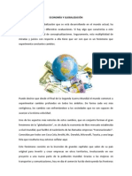 ECONOMÍA Y GLOBALIZACIÓN