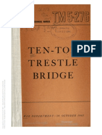 Tm 5-276 Ten Ton Trestle Bridge