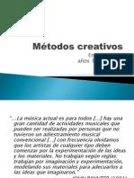 Métodos creativos