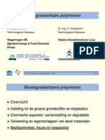 biodegradeerbare polymeren presentatie 5