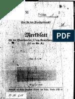 H.Dv.481-51 Merkblatt für die Munition der 3,7 cm Kampfwagenkanone - 25.04.1939