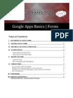Google Apps Basics - Forms