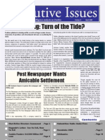 Executive Issue April 2009 Edition