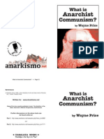 What is Anarchist Communism? (Wayne Price)