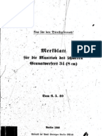 H.Dv.481-64 Merkblatt für die Munition des schweren Granatwerfers 34 8 cm - 06.05.1940