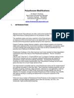 Polysiloxane Modifications AFW Nov03