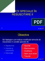 Situatii Speciale in Resuscitare II