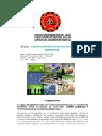 Curso Cambio Climatico - Colegio de Ingenieros