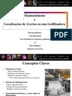 Mantenimiento y Localizacion de Averias en Una Liofilizacion