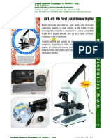C&A MFL-85, Microscopio Digital y Óptico, Ficha Técnica