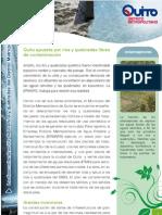 Agua de Quito - Plan de Descontaminación de Ríos y Quebradas del Distrito Metropolitano de Quito