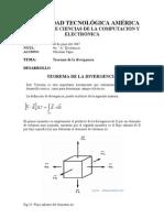 Teorema Divergencia