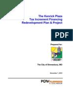 KenrickPlazaRedevelopmentPlan11-1-12