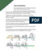 Historia y Evolución de la Bicicleta & Automovil.