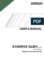 Manual 3G3EV