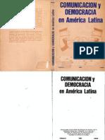 Comunicación y Democracia schmucler